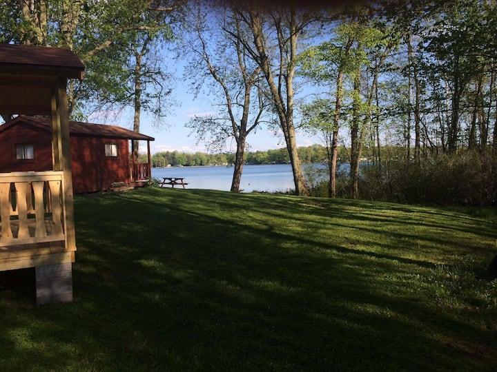 Lakeside Camping Cabin 3