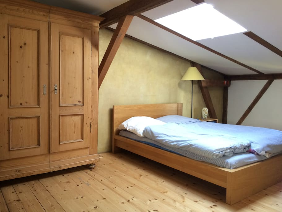 Twin bed for up to two persons.