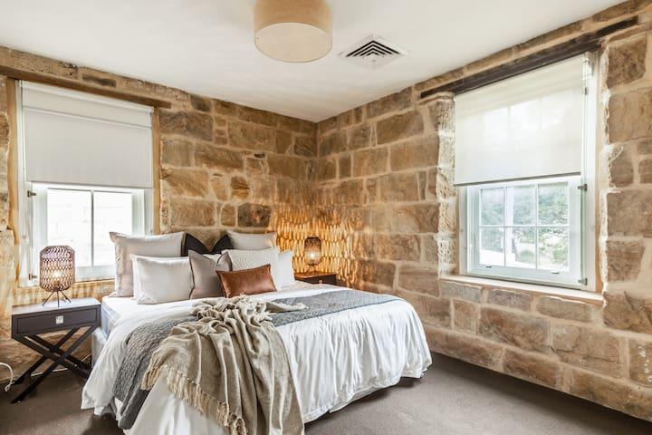 Sleep & Sandstone Walls Go Well