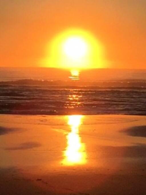 Your morning sunrise