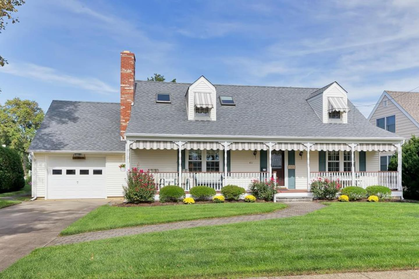 Quaint Cape style 4 bedroom home with full basement.