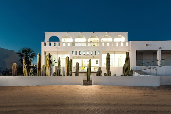 """La Casa del Mar""  at New Kino Bay Beach Sea Side"
