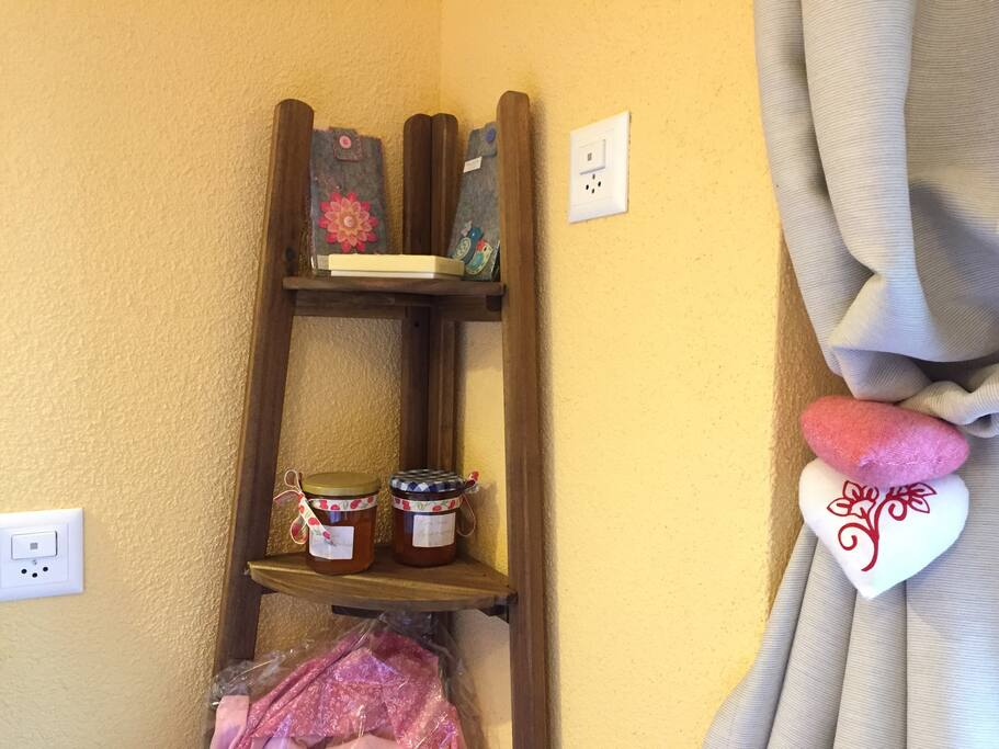 Pretty decoration and home made products