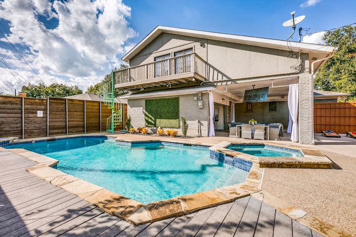ULTIMATE TEXAS EXPERIENCE WITH HEATED POOL&SPA