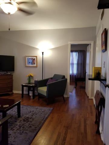 Freshly remodeled, fully furnished apartment.