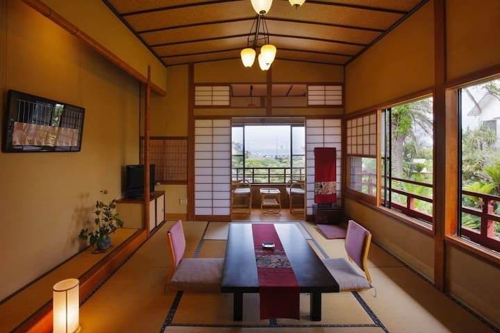 Relaxing stay at Traditional Hot Spring Ryokan Hotel in Chiba Prefecture 千葉県の温泉旅館でのんびりご宿泊