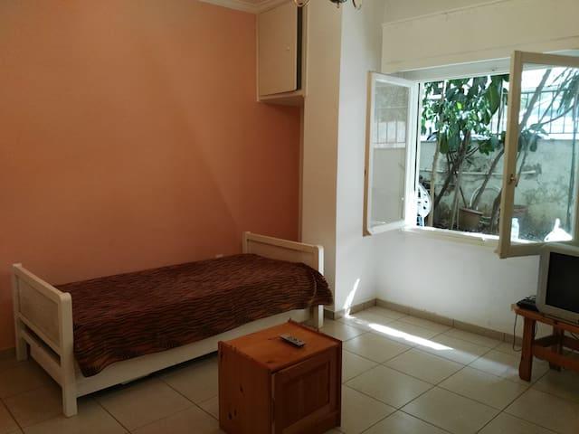 Great Location, semibasement flat in evagelismos - Athina - Apartamento