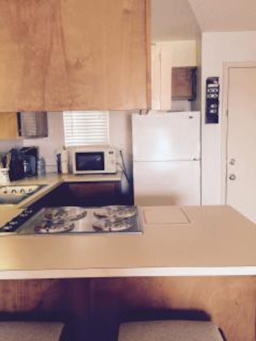counter top electric stove