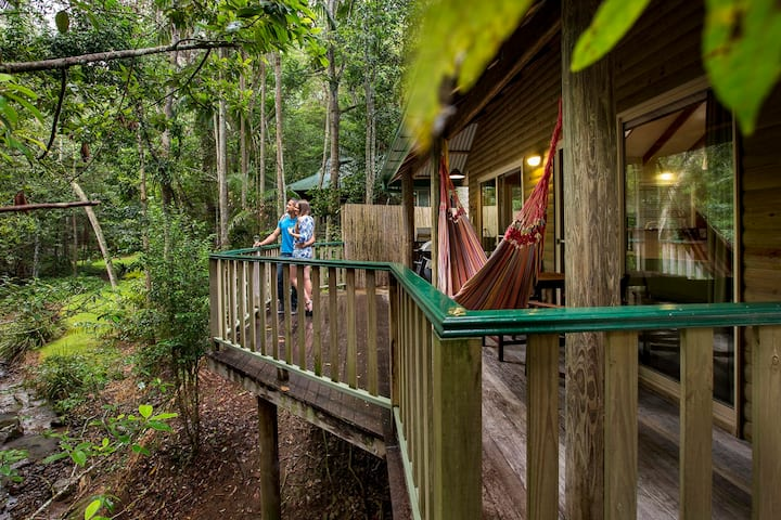 Luxury Rainforest Villa in the Hinterland