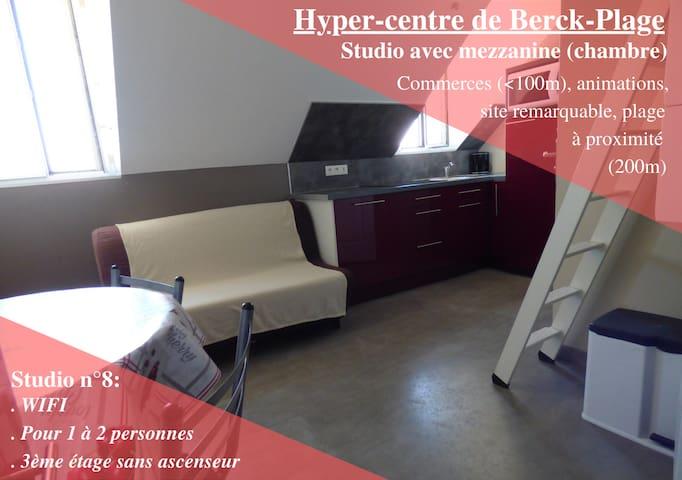 Appart 8 - Hyper-centre de Berck-Plage – WIFI