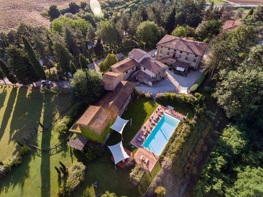 Il piccolo borgo di Villa Maria