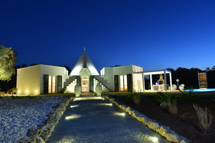 Luxury Villa in Apulia Trullo Ramachandra