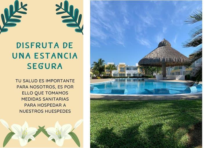 Casa en Acapulco Diamante Terrarium 5 min de playa