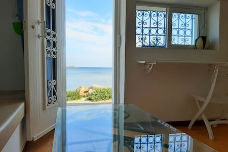 Cosy Harbor view studio S+1 #Kelibia beach#