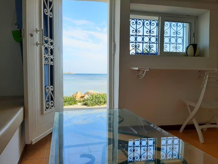 Cosy Harbor view studio S+1 #Kelibia beach#