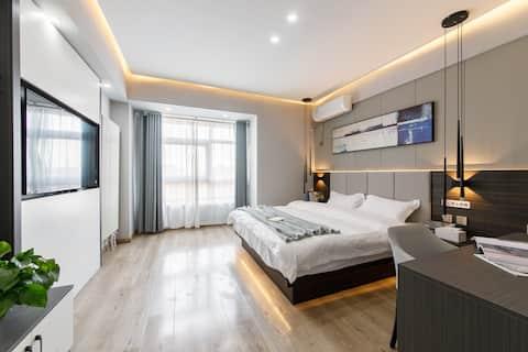 【奈斯优选】华福V+公寓|北园大街全福商圈|邻荣盛国际|洪家楼|舒适商务大床房