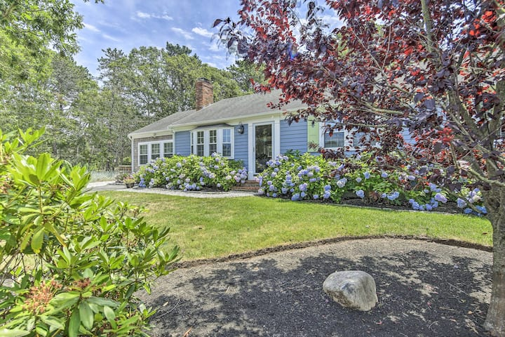 Cape Cod House w/ Deck & Grill - 2 Miles to Beach!