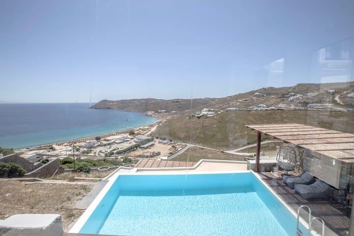 Luxurious House in Mykonos, Elia