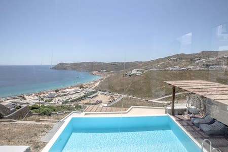 Luxurious House with private pool in Mykonos, Elia