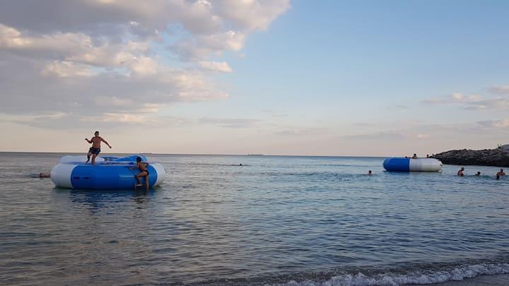 Квартира у моря в Одессе,Капремонт 3 спальн.места.