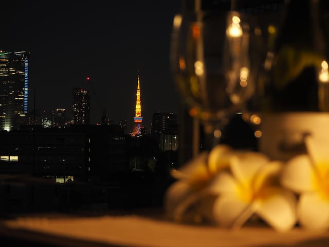 Shibuya 5mins-Cozy studio APT-TokyoTowerView - Shibuya-ku - Apartamento