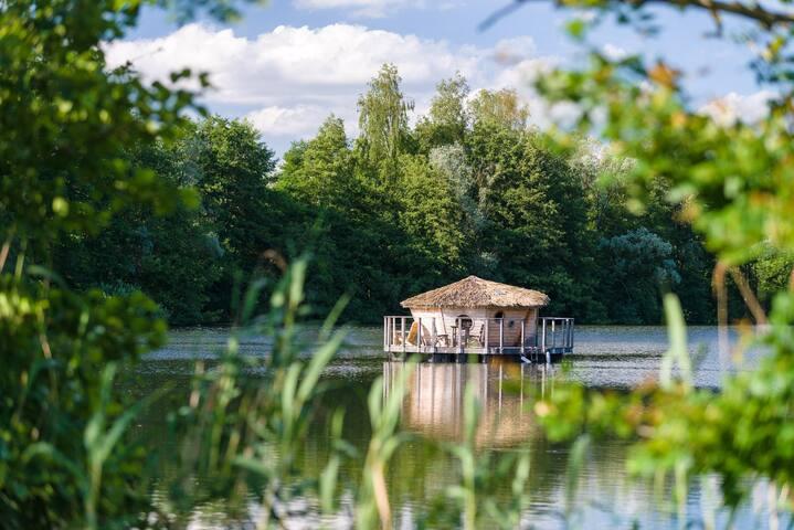 Cabane Spa Nénuphar pour 2 personnes - Chassey-lès-Montbozon