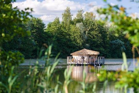 Cabane Spa Nénuphar pour 2 personnes - Chassey-lès-Montbozon - Kulübe