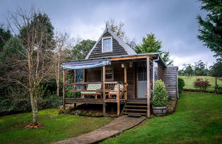 Your romantic cottage awaits...peaceful and private and just for you.