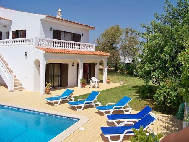 Villa Mafalda - Carvoeiro - Pool And Garden