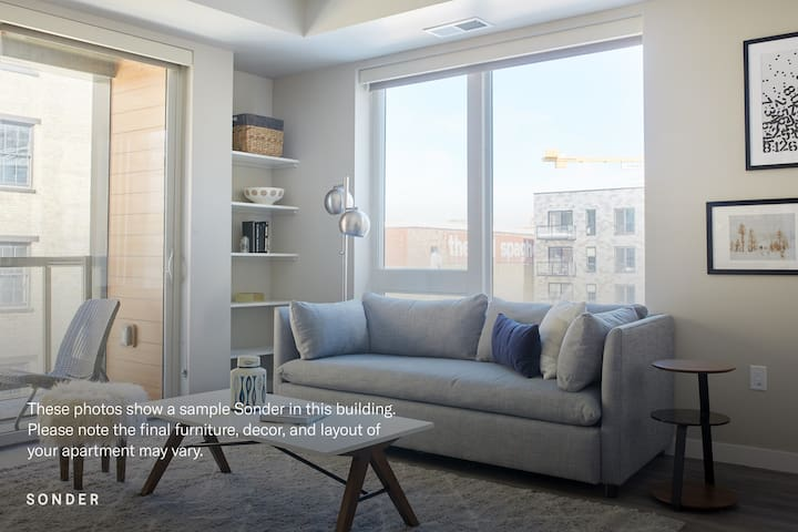 Sonder | East End | Charming 2BR + Balcony