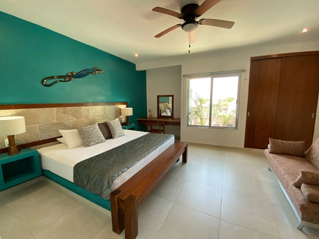 Private Apt + Ideal for couples + Tulum Center # 7