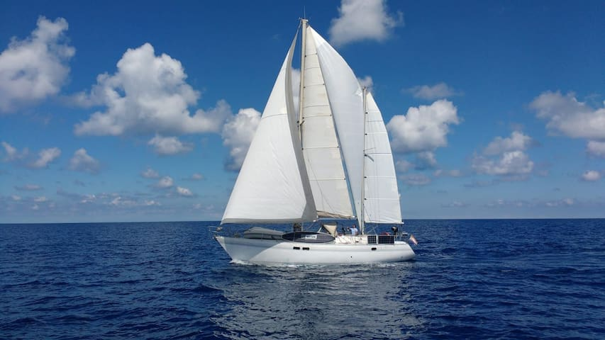 St Martin SXM Sailboat - CRUISING for extra fee