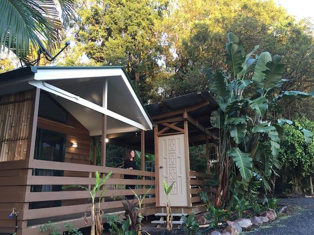 Your Own Private Cabin Retreat on Shambhala Farm
