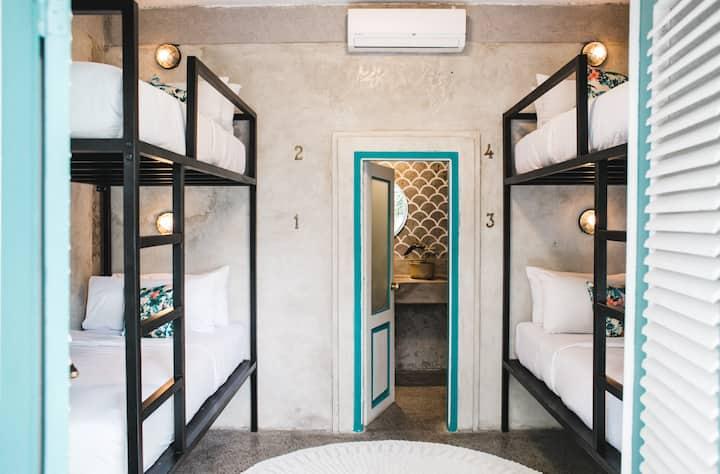 Affordable Private Quad Room