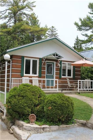 The 2 bedroom cottage at Whispering Pines