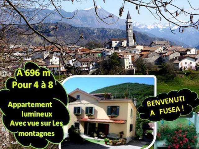Détente à 4 ou + à 696m/Vue sur les montagnes ! - Tolmezzo - Casa
