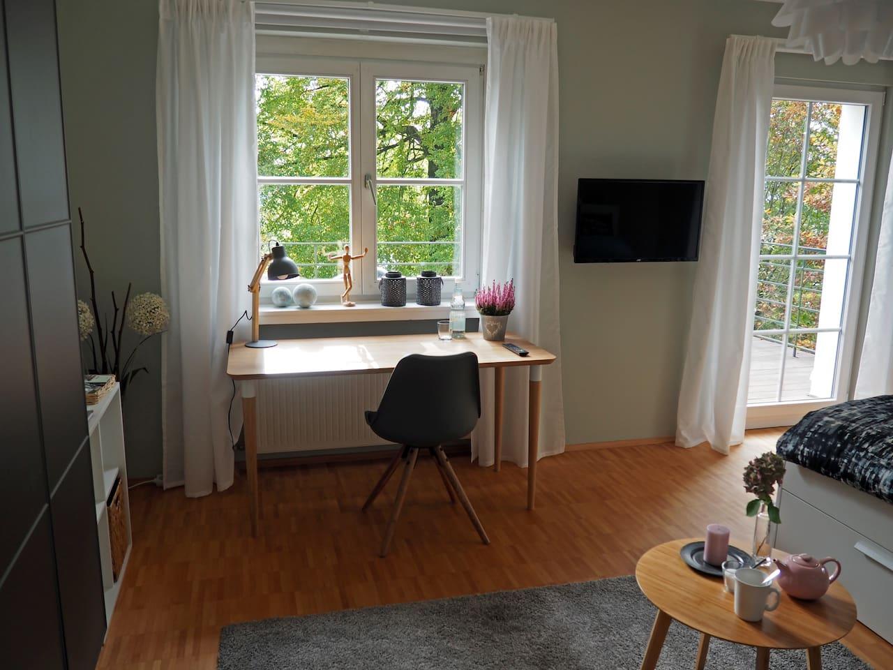 Das Balkon-Zimmer