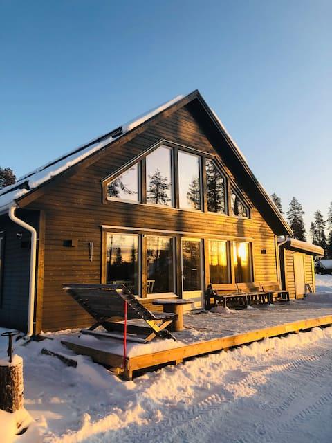Mysig fjällstuga/cottage in Kåbdalis