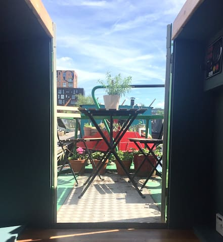 Relax on the glorious deck