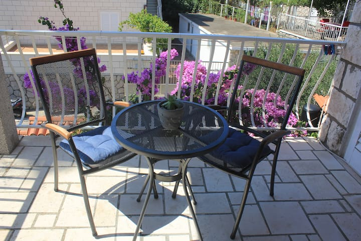 Studio Apt with Balcony in Lapad / FREE Parking