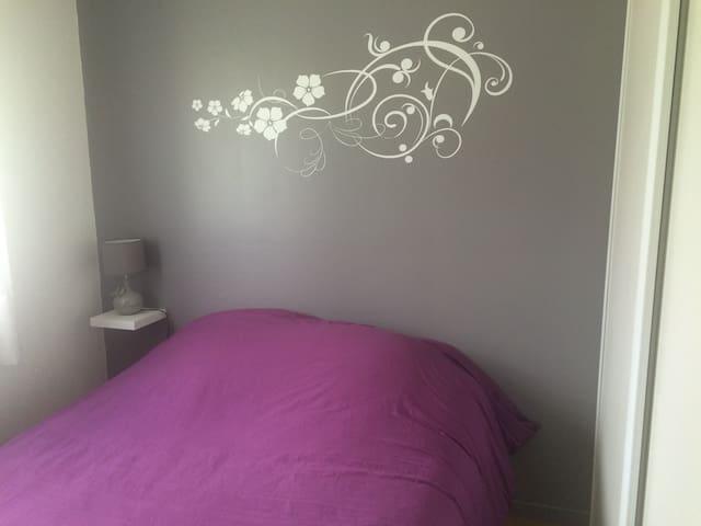 Chambre confort avec accés piscine - Sadirac - Huis
