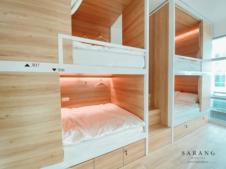 *NEW* Sarang Hostel 窩旅舍 @ Queen Bed Shared Room