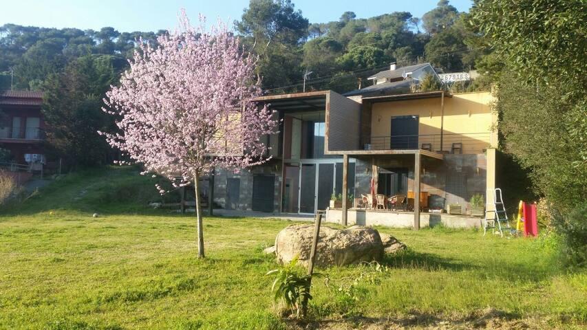 Villa standing of architect