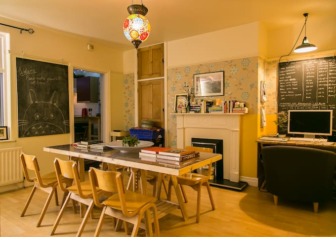 Cosy international garden flat in city centre. - Newcastle upon Tyne - Apartment