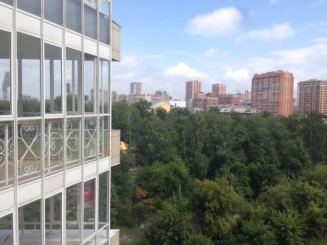 N1 по отзывам в НовосибирскеYDR. У Оперного театра - Nowosybirsk - Apartament