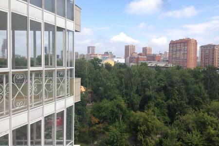 N1 по отзывам в НовосибирскеYDR. У Оперного театра - 新西伯利亚 - 公寓