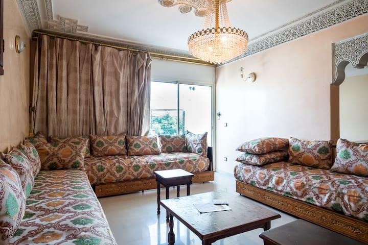 Spacious apartment downtown Rabat - Rabat - Daire