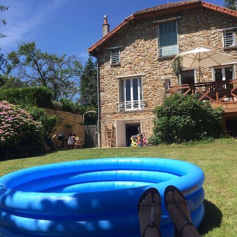 Maison de charme à la campagne, 30 min de paris - La Queue-lez-Yvelines - Dom