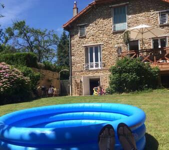 Maison de charme à la campagne, 30 min de paris - La Queue-lez-Yvelines - 独立屋