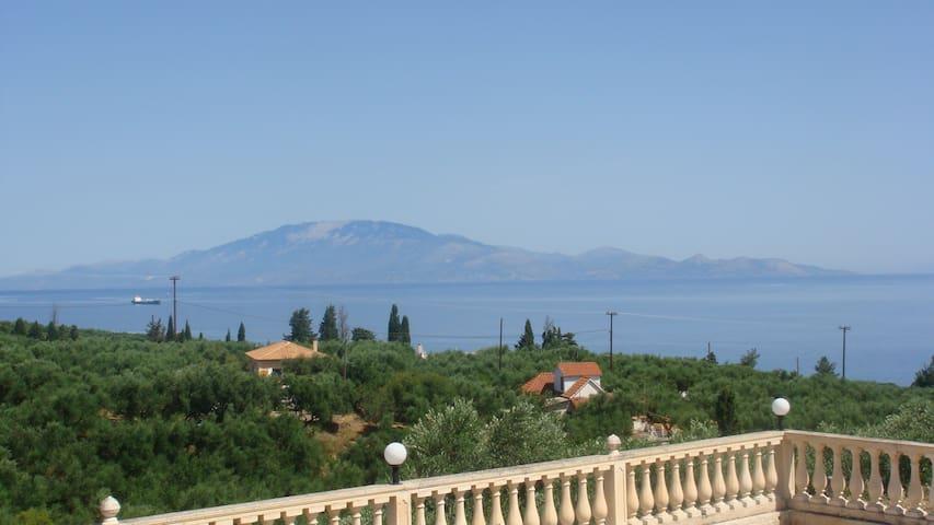 Amazing sea view apartment in Zakynthos - Αμμούδι - บ้าน